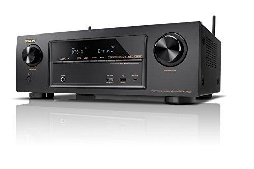Denon AVレシーバー 7.2ch Dolby Atmos/DTS:X/HDCP2.2/ハイレゾ音源対応/ネットワーク機能 ブラック AVR-X1300W-K