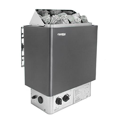 Saunaofen mit integrierter Steuerung und Überhitzungsschutz(9.0kw Saunaofen mit Steinen)