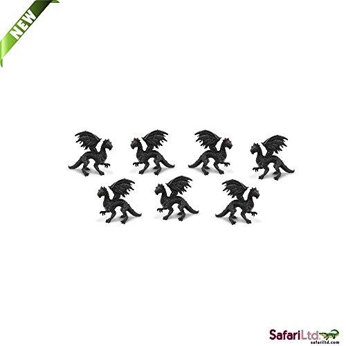 Safari Ltd. - Good Luck Minis - Glücksminis - Twillight Drachen 5 Stück