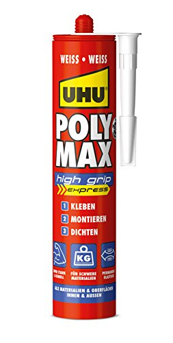 UHU 47230 Poly Max High Grip Express, Kartusche mit 425 g