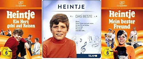 Heintje Klassiker Collection + Best Of Musik CD - Ein Herz geht auf Reisen + Mein bester Freund 2 DVD + CD Edition