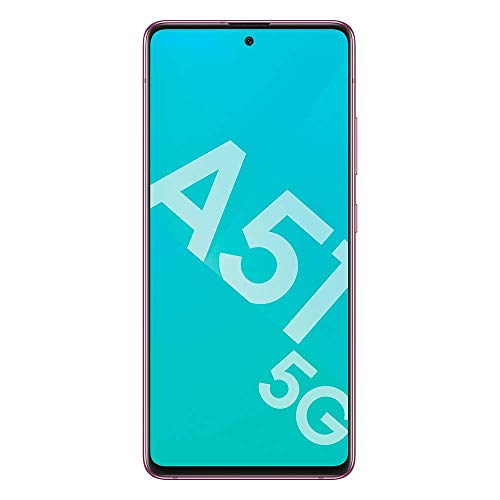 Samsung Galaxy A51 5G 128Go Rose + BON D'ACHAT AMAZON - Smartphone Portable débloqué - Compatible Réseau Français - Ecran: 6,5 pouces - Double Nano SIM - Android