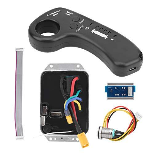 DAUERHAFT Controlador de accionamiento único de aceleración rápida Kit de Controlador de accionamiento único eléctrico Universal, para Scooter