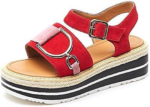 HommesGLTX Hot Sweet Sandals Femmes été Enfant Plate-Forme Studennt Sandales Femmes Décontracté Chaussures Femme
