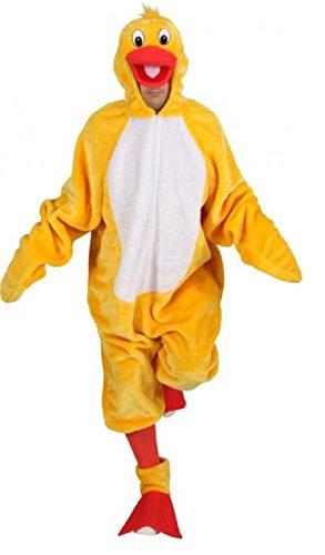 O7537D-160-175 - Disfraz de pato para mujer, talla 160 hasta 175 cm