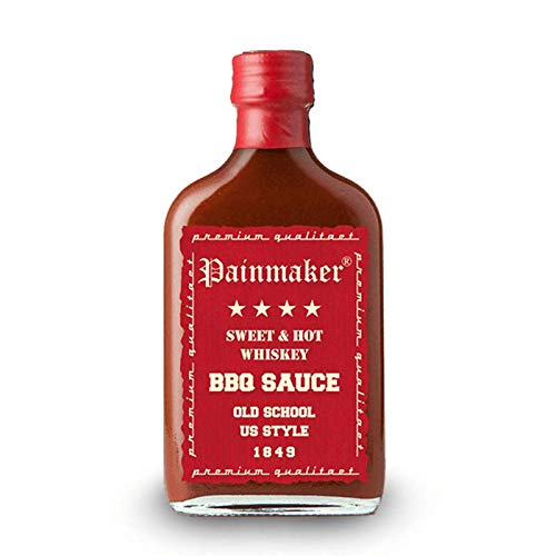 Painmaker Sweet und Hot Whiskey BBQ Sauce Old School US Style 200ml
