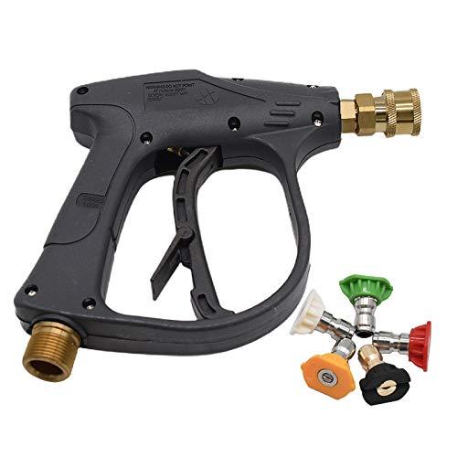 Stone Banks Hochdruckreiniger Pistole mit 5 Farbe Spritzdüsen, 4000PSI 1/4