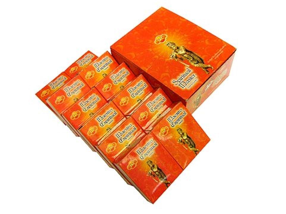 シーズン仕事警告SANDESH SAC (サンデッシュ) スピリチュアルマスター香コーンタイプ SPIRITUAL MASTER CORN 12箱セット