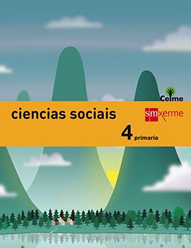 Ciencias sociais. 4 Primaria. Celme - 9788498545272