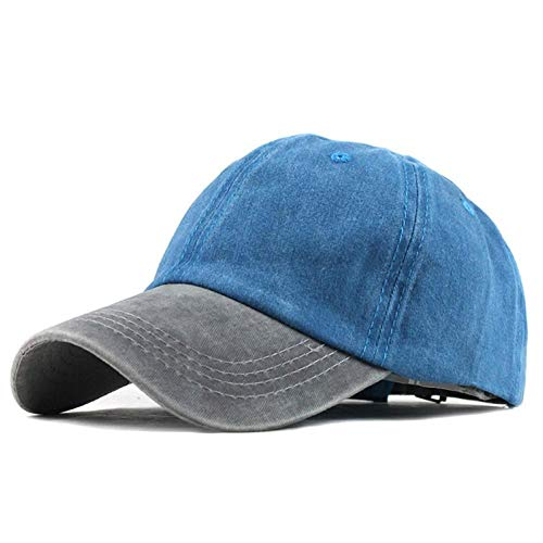 Vita&kki Denim Snapback Hoeden Herfst Zomer Heren Dames Baseball Cap Golf Sunblock Beisbol Hockey Caps