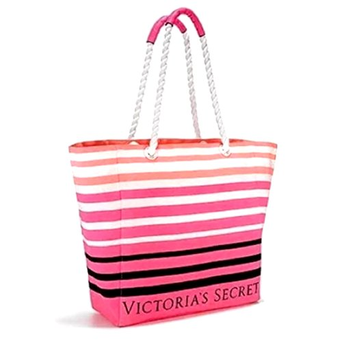 Victoria's Secret Limited Edition Summer Tote Beach Bag Rope Handle