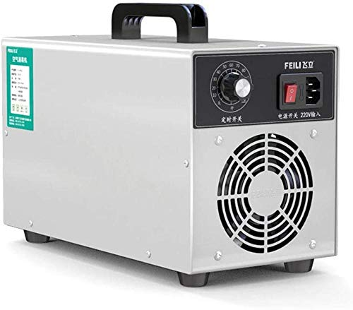 Ozonizador,Generador de ozono Esterilizador de O3 para el hogar Máquina de purificación de desinfección del aire 3000mg / h La carcasa de acero inoxidable 304 mata las bacterias Virus Certificado CE