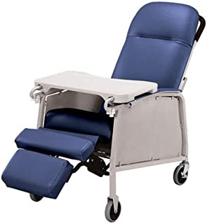 Lumex 574G Three Position Recliner Color: Imperial Blue