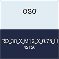 OSG 丸ダイス RD_38_X_M12_X_0.75_H 商品番号 42156