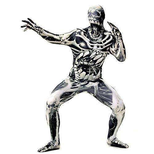 Halloween Monster Fancy Jurk Kostuum Volwassenen En Kid's griezelige Cosplay Stretch Body Suit Kostuum Bodysuit