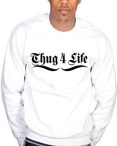Ulterior Clothing Thug 4 Life Sweatshirt