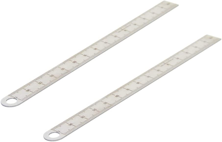 Utoolmart Cheap mail order specialty store Straight Ruler Limited time for free shipping 150mm Stainless Steel Rule Metal Metric