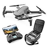 PAKUES-QO Drone GPS con Cámara 4K, Cámara EIS Cardán De 2 Ejes, Cuadricóptero RC Plegable con Motor Sin Escobillas, Video En Vivo 5G FPV, Modo Sin Cabeza