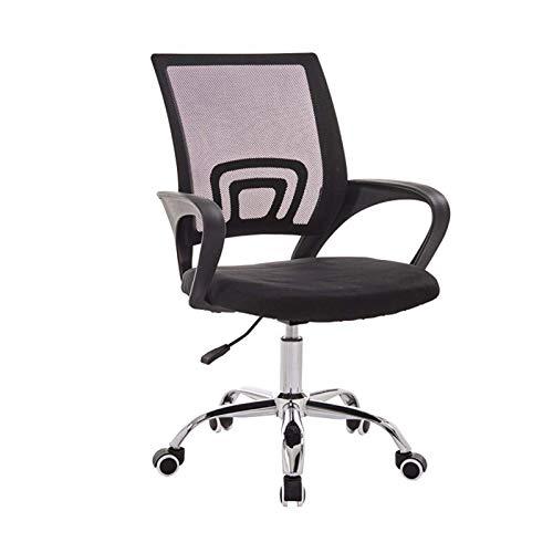 Zjcpow Silla de oficina de ordenador portátil ergonómica silla de oficina silla de escritorio silla de malla para ordenador portátil