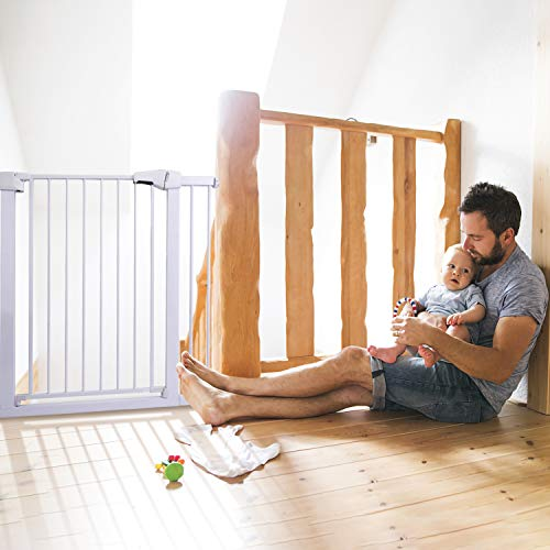 411pjACmAsL The 7 Best Pressure Mounted Baby Gates of [2021 Review]