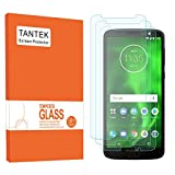 TANTEK Screen Protector for Motorola Moto G6, 5.7-Inch,Tempered Glass Film,Ultra Clear, 3-Pack