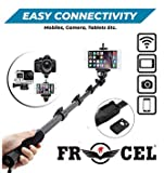 frocel 1288 Selfie Stick for Smartphones and Monopod for Action Camera and Digital