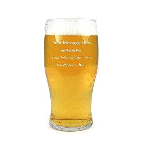 Arcoroc Personalisierte Pint Bier-Glas/Gläser/Barbedarf CE 20 Unzen/568ml