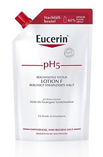 Eucerin pH5 Lotion F Nachfüll empfindliche Haut, 400 milliliters