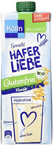 Kölln Smelk Haferliebe Drink Klassik Glutenfrei, 8er Pack (8 x 1L)