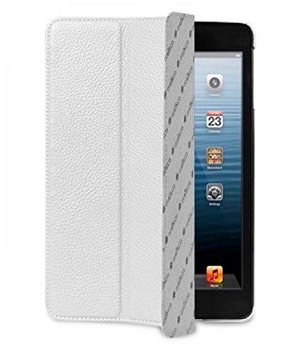melkco apipmnlcsc1Schutzhülle aus Leder für iPad Mini weiß