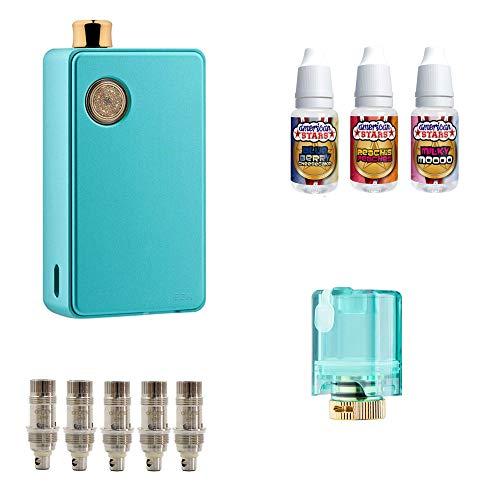 DotMod dotAIO Komplettset | Limited Edition Tiffany Blue | E-Zigarette Einsteiger Set | 00 mg - ohne Nikotin