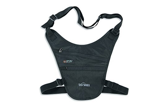 Tatonka Geldaufbewahrung Skin Chest Holster RFID B, Black, 19 x 19 cm, 2961 by Tatonka