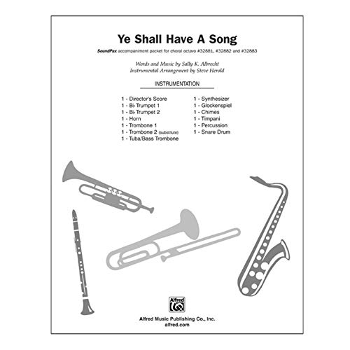 Alfred 00-32885 Vosotros tendr-is canci-n - Music Book
