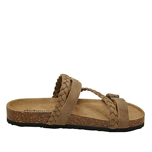 OUTWOODS Bork-65 Women's Sandals (6, Taupe)