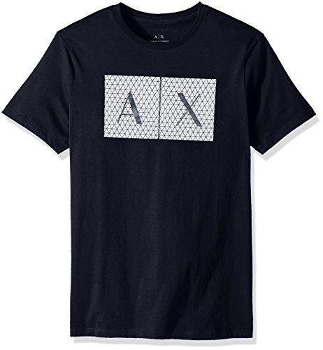 Armani Exchange 8nztck Camiseta, Azul (Navy 1510), Large par