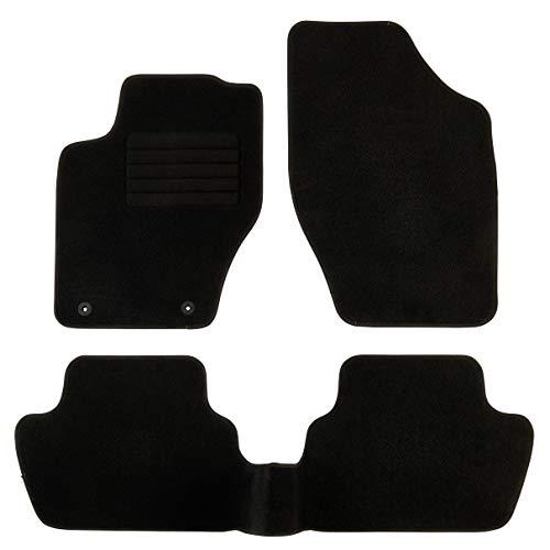 DBS Tapis de Voiture - sur Mesure pour 307/307 SW (2000-2009) - 3 pièces - Tapis de Sol antidérapant pour Automobile - Moquette Classic