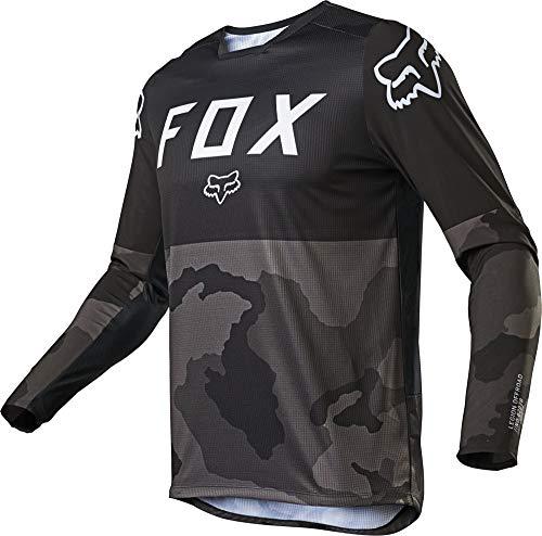 Fox Racing Legion Lt Men's Off-Road Motorcycle Jersey - Black/Camo/Large