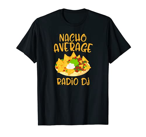 Cinco De Mayo Nacho Media Radio Dj Mexican Fiesta Regalo Camiseta