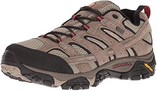 Merrell mens Moab 2 Wp Hiking Shoe, Bark Brown, 9 US