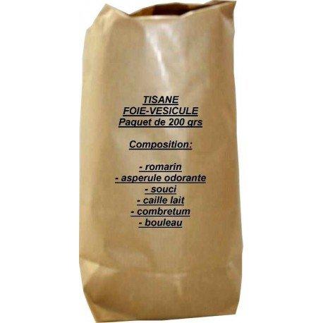 Tisane foie-vésicule paquet de 200 grs