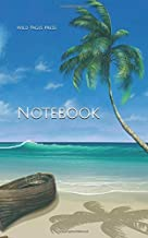Notebook: paradise painting beach vacation sea boat meeting meetings coffee email donuts