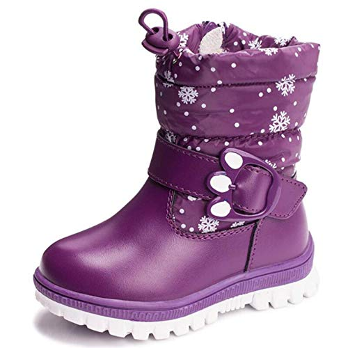 N-brand Children 's Boots for Girls More Than Boys Wool Styles Boots Waterproof Girls Boot Sport Shoes Fur Lining Kids Shoes Sell at