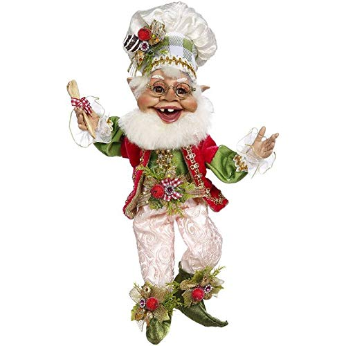 Mark Roberts 2020 Limited Edition Collection Confectionary Elf Figurine, Small 10'' - Deluxe Christmas Decor and Collectible