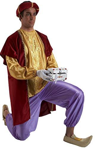 Disfraz o traje Paje del Rey Baltasar extra adulto