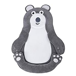 Portable Newborn Baby Lounger Cushion, Untra Soft and Breathable Head Shaping Infant Nest for Travel, Co Sleeping and Flat Head Prevention, Fit Baby Crib, Bassinet and Bed
