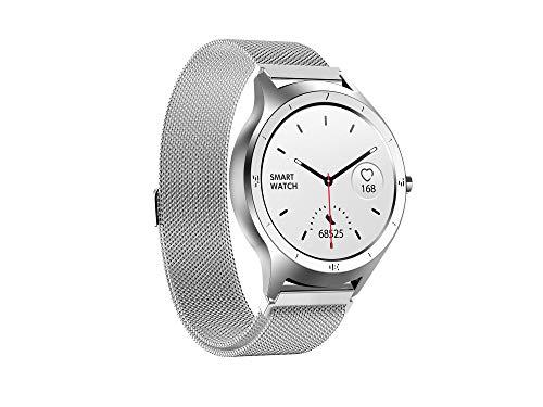 Hongkaihua Smartwatch Orologio Fitness Uomo Donna,Impermeabile IP68 Fitness Tracker con Contapassi Monitor per La Pressione Del Sangue Cardiofrequenzimetro da polso, Smart Watch con Cronometro