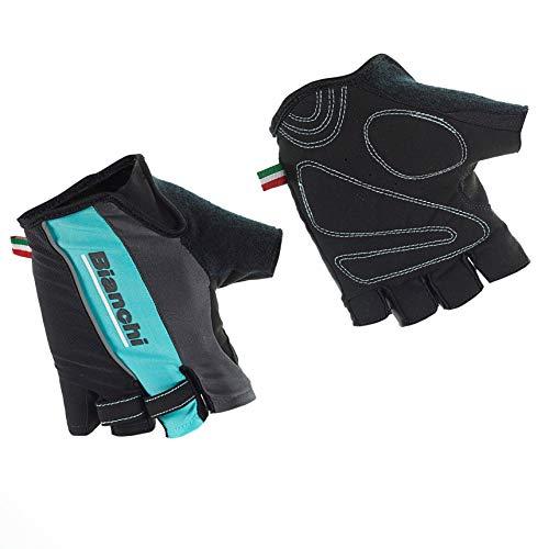 Bianchi - Guanti Estivi Sport Line 2019 Taglia M Colore Nero/Celeste cod. C9531483