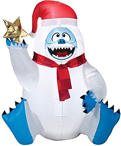 Christmas Inflatable 4' Bumble The Abominable Snow Monster Holding Star by Gemmy