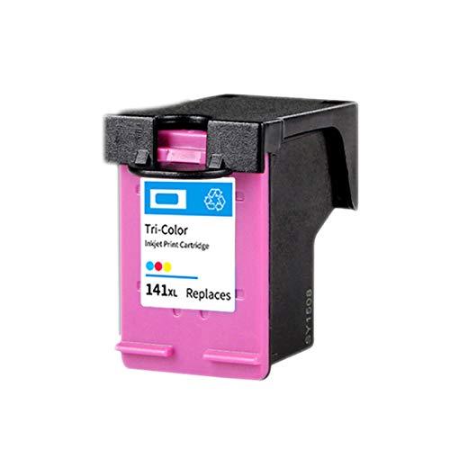 HAUYZ Cartucho de Tinta Compatible para HP 140XL 141XL, Adecuado para HP DeskJet 710C 712C 720C 810C 830C 4260 J5780 Impresora, Colorido 3 Colors