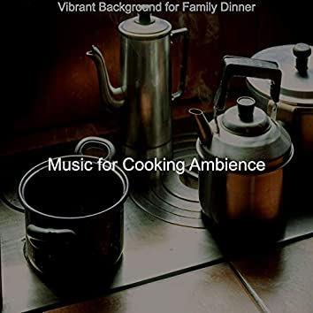 Vibrant Background for Family Dinner